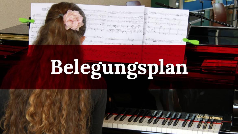 Belegungsplan musica nova